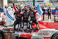 #7 Toyota Gazoo Racing Toyota GR010 - Hybrid Hypercar, Mike Conway, Kamui Kobayashi, Jose Maria Lopez, 24 Hours of Le Mans, Circuit des 24 Heures, Le Mans, Pays da Loire, France