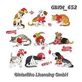 Kate, CHRISTMAS ANIMALS, WEIHNACHTEN TIERE, NAVIDAD ANIMALES, paintings+++++,GBKM652,#xa# ,sticker,stickers