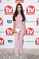 Yasmin Oukhellou<br /> at the TV Choice Awards 2018, Dorchester Hotel, London<br /> <br /> ©Ash Knotek  D3428  10/09/2018
