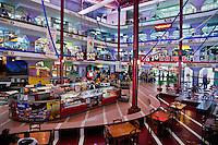 Cuba, Havana.  Plaza Carlos III Shopping Mall.
