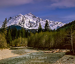 Nooksack River, Mt. Shuksan, North Cascades National Park, Washington