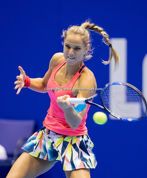 Rotterdam, Netherlands, December 18, 2016, Topsportcentrum, Lotto NK Tennis, Final,  Arantxa Rus (NED) <br /> Photo: Tennisimages/Henk Koster