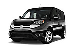 Stock pictures of low aggressive front three quarter view of 2017 Ram Promaster City SLT 5 Door Mini Mpv Low Aggressive