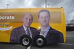 010510 Lib Dem Leader Nick Clegg campaigning Newport