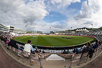 A view across the ground during the evening session if play, day 5 during India vs New Zealand, ICC World Test Championship Final Cricket at The Hampshire Bowl on 22nd June 2021