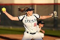 SAN ANTONIO, TX - FEBRUARY 24, 2017: The University of Texas at San Antonio Roadrunners fall to the University of Incarnate Word Cardinals 5-4 in nine innings at UTSA Roadrunner Field. (Photo by Jeff Huehn)