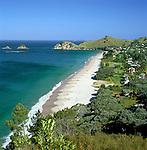 New Zealand, North Island, Coromandel Peninsula: Hahei Beach | Neuseeland, Nordinsel, Coromandel Halbinsel: Hahei Beach