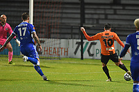 Mike Petrasso of Barnet F.C. pulls one back scores the first Goal and celebrates during Barnet vs Bromley, Vanarama National League Football at the Hive Stadium on 14th November 2020
