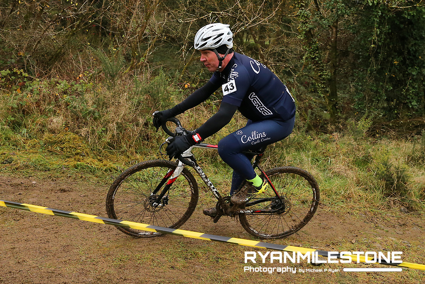 EVENT:<br /> Round 5 of the 2019 Munster CX League<br /> Drombane Cross<br /> Sunday 1st December 2019,<br /> Drombane, Co Tipperary<br /> <br /> CAPTION:<br /> Joe Ahern of Collins Cycling Centre Race Team in action during the B Race<br /> <br /> Photo By: Michael P Ryan