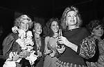 MARIA PIA FANFANI, MARISA BERENSON,  IRA FURSTERBENG E GINA LOLLOBRIGIDA- PREMIO THE BEST  RAINBOW ROOM ROCKFELLER CENTER NEW YORK 1982