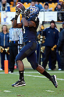 Pitt running back Ray Graham returns a kickoff. The WVU Mountaineers defeated the Pitt Panthers 35-10 at Heinz Field, Pittsburgh, Pennsylvania on November 26, 2010.