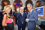 GIULIO TREMONTI CON MARCELLO FOA<br /> RICEVIMENTO 14 LUGLIO 2021 AMBASCIATA DI FRANCIA<br /> PALAZZO FARNESE ROMA