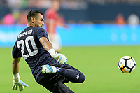 Houston, TX - Thursday July 20, 2017: Sergio Romero during a match between Manchester United and Manchester City in the 2017 International Champions Cup at NRG Stadium.
