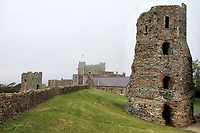 """Dover Castle is a medieval castle in Dover, Kent. It was founded in the 11th century and has been described as the """"Key to England"""" due to its defensive significance throughout history. Some sources say it is the largest castle in England - a title also claimed by Windsor Castle. 5th September 2020<br /> <br /> Photo by Keith Mayhew"""