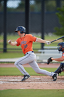 Houston Astros Stephen Wrenn (38) during a Minor League Spring Training Intrasquad game on March 28, 2018 at FITTEAM Ballpark of the Palm Beaches in West Palm Beach, Florida.  (Mike Janes/Four Seam Images)