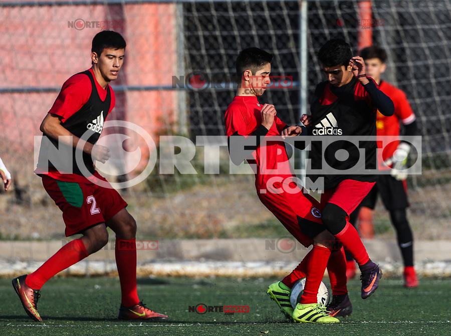 Entrenamiento de Xholos de Hermosillo de la Tercera división. 16Enero2018<br /> (Foto: Luis Gutierrez/NortePhoto.com)