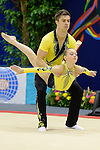 Sports Acrobatics Worlds 2014 .Palais des sports Marcel Cerdan<br />