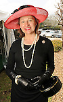 Minnette Boesel at the Hermann Park Conservancy Hat Party Tuesday March 9,2010. (Dave Rossman Photo)