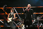ROCK & ROLL HALL OF FAME CONCERT AT MADISON SQUARE GARDEN Jeff Beck, Sting,