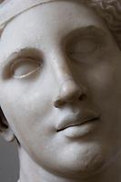Germania Berlino 2007  Pergamon Museum.Arte greca testa femminile, Ariadne, marmo scuola di Skopas
