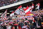 Atletico de Madrid's supporters during La Liga Match at Vicente Calderon Stadium in Madrid. May 14, 2016. (ALTERPHOTOS/BorjaB.Hojas)