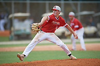 Drew Gray (11) during the WWBA World Championship at the Roger Dean Complex on October 10, 2019 in Jupiter, Florida.  Drew Gray attends Belleville East High School in Swansea, IL and is committed to Arkansas.  (Mike Janes/Four Seam Images)