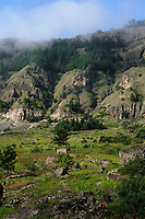 Caldeira Cova do Paul, Santo Antao, Kapverden, Afrika