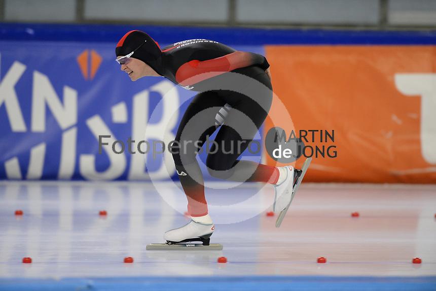 SCHAATSEN: HEERENVEEN: 10-10-2020, KNSB Trainingswedstrijd, Evi Gelling, ©foto Martin de Jong