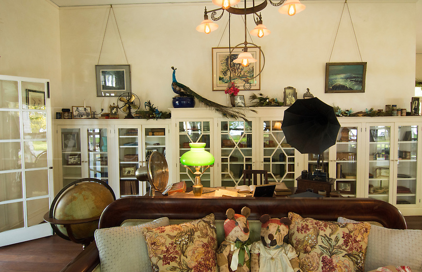 Thomas Edison inventor home and museum in Ft Myers Florida living room