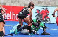 Olivia Shannon during the Pro League Hockey match between the Blacksticks women and the USA, Nga Punawai, Christchurch, New Zealand, Sunday 16 February 2020. Photo: Simon Watts/www.bwmedia.co.nz