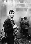Ron Bennett at fire in Portland Oregon,