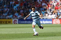ST. PAUL, MN - AUGUST 21: Cameron Duke #28 of Sporting Kansas City kicks the ball during a game between Sporting Kansas City and Minnesota United FC at Allianz Field on August 21, 2021 in St. Paul, Minnesota.