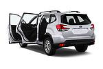 Car images close up view of a 2020 Subaru Forester Premium 5 Door Wagon doors