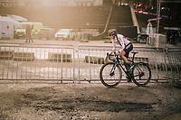 Lucinda Brand (NED/Telenet-Baloise Lions) taking her 3rd succesive win in Namur<br /> <br /> Women's Race<br /> UCI Cyclocross World Cup Namur 2020 (BEL)<br /> <br /> ©kramon