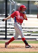 March 30, 2010:  Steve Susdorf (23) of the Philadelphia Phillies organization during Spring Training at Carpenter Complex in Clearwater, FL.  Photo By Mike Janes/Four Seam Images