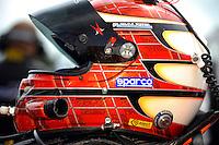 #8 Starworks Motorsports Ford/Riley. Helmet of Ryan Dalziel   class: Daytona Prototype (DP)