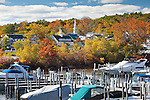 Autumn on Lake Winnipesaukee, Meredith, NH, USA