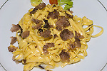 Pasta and Mushrooms, Osteria del Cinghiale, Florence, Tuscany, Italy