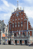 Schwarzhäupterhaus in Riga, Lettland, Europa, Unesco-Weltkulturerbe
