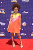 LOS ANGELES - APR 29:  Asia Monet Ray at the 2016 Radio Disney Music Awards at the Microsoft Theater on April 29, 2016 in Los Angeles, CA