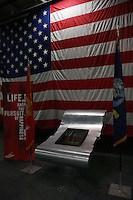 A rare 1776 copy of the Declaration of Independence was on public display for one day only, the fourth of July, onboard the USS Midway, San Diego, CA, USA, July 3rd 2008.  The document was in town for just a few days as part of a campaign to encourage young people to register and vote.