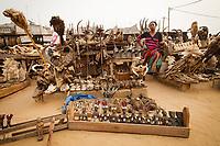 Africa,Togo,Lomè, Akodessewa woodoo market of fetish-mecato dei feticci Voodoo Akodessewa a Lomè Togo