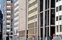 milano, palazzi in via vittor pisani --- milan, buildings in vittor pisani street