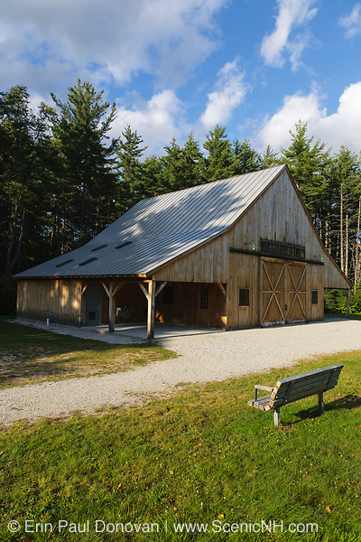 The Russell-Colbath Historic Homestead site located along the Kancamagus Highway (route 112), which is one of New England's scenic byways in the White Mountains, New Hampshire USA. This homestead was part of the Passaconaway settlement along the Swift River Logging Railroad