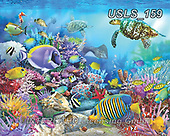 Lori, REALISTIC ANIMALS, REALISTISCHE TIERE, ANIMALES REALISTICOS, zeich, paintings+++++Coral Reef Majesty_3_72_Ravensburger,USLS159,#a#, EVERYDAY ,puzzle,puzzles
