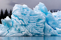 iceberg, Pederson Lagoon Aialak Bay, Alaska, USA, Pacific Ocean