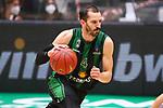 TDAYS EuroCup 2020-2021.Round 1.<br /> Joventut Badalona vs Partizan NIS Belgrado: 85-82.<br /> Pau Ribas.
