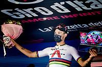 TT World Champion Filippo Ganna (ITA/INEOS Grenadiers) wins the closing iTT into Milan<br /> <br /> 104th Giro d'Italia 2021 (2.UWT)<br /> Stage 21 (final ITT) from Senago to Milan (30.3km)<br /> <br /> ©kramon