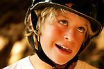 Skateboarder Matt Kaplan, age 10.  August 18, 2005.