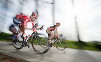 """eventual race winner: Kenny """"zoef"""" Dehaes (BEL)<br /> <br /> Nokere Koerse 2014"""